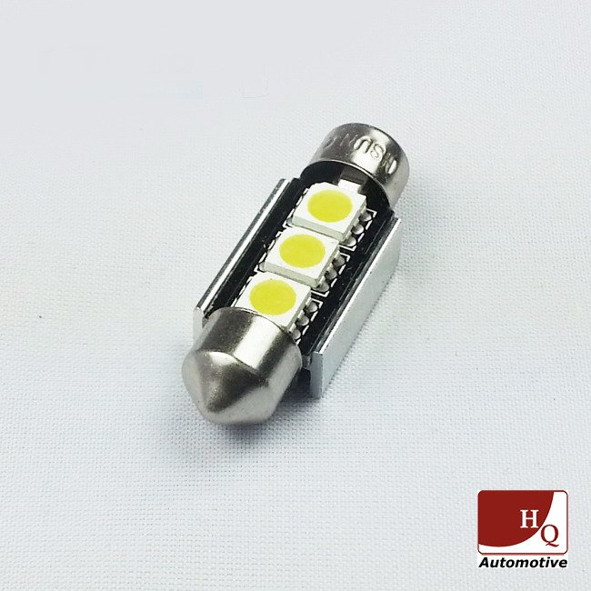 Led Car Light Bulb C5w 3x Smd 5050 Festoon 36mm Canbus White Led Bulbs Canbus Led Bulbs Led