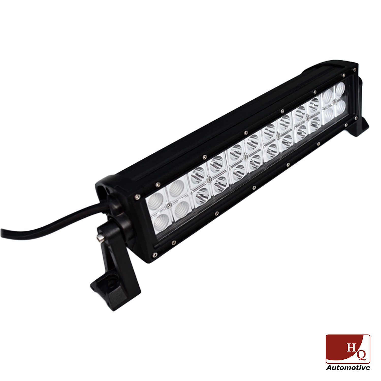 led work light bar 4x4 off road atv truck quad flood lamp 13 7 72w 24x led b3 drl off road. Black Bedroom Furniture Sets. Home Design Ideas