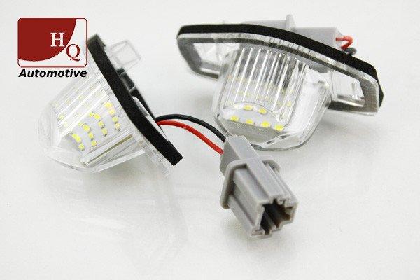 Auto Led Lampen : Honda jazz license licence number plate led lamp light number