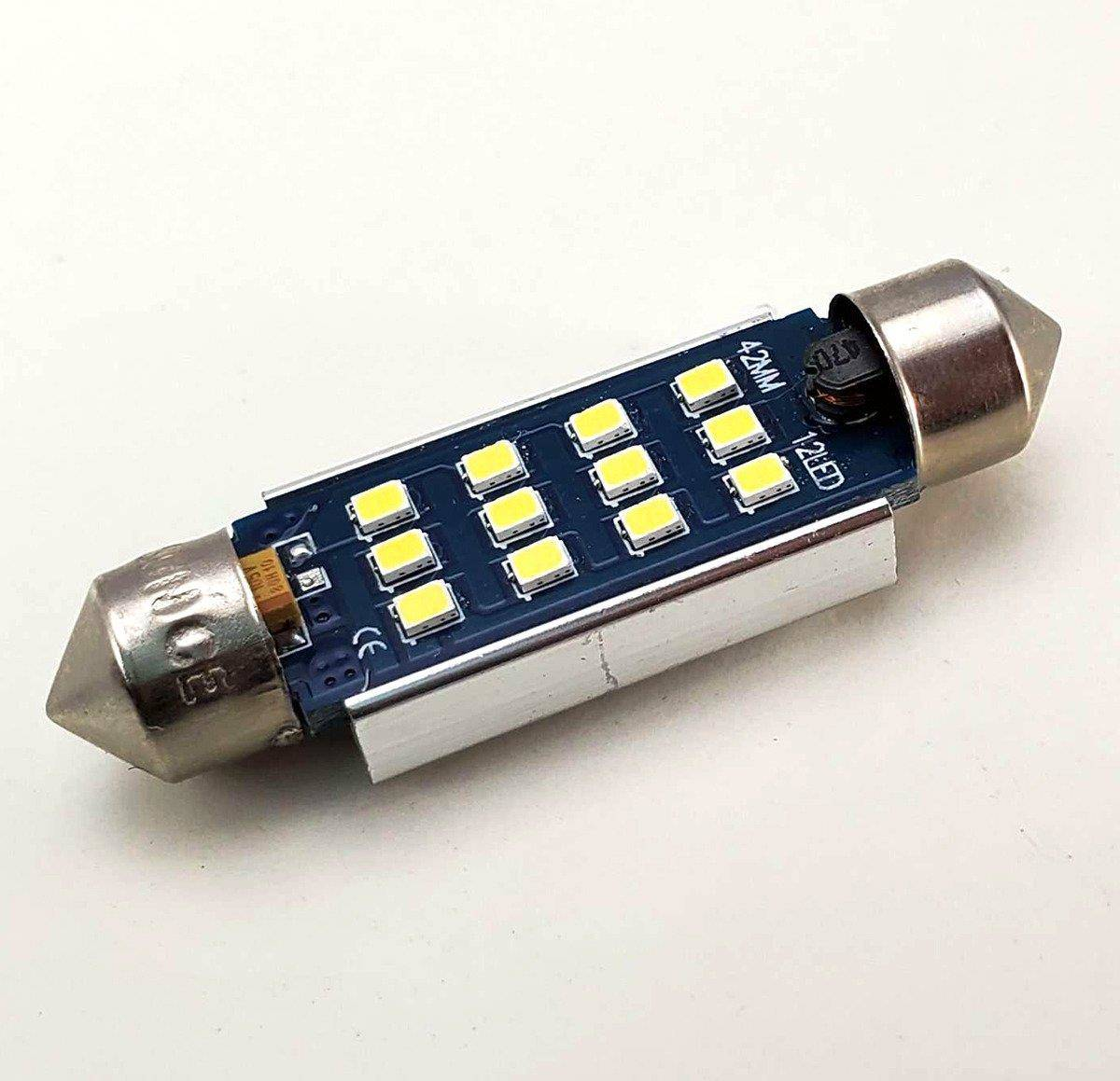 Interior Car Led Bulbs Replacement Kit For Audi A4 B7 19pcs Cool White 6000k