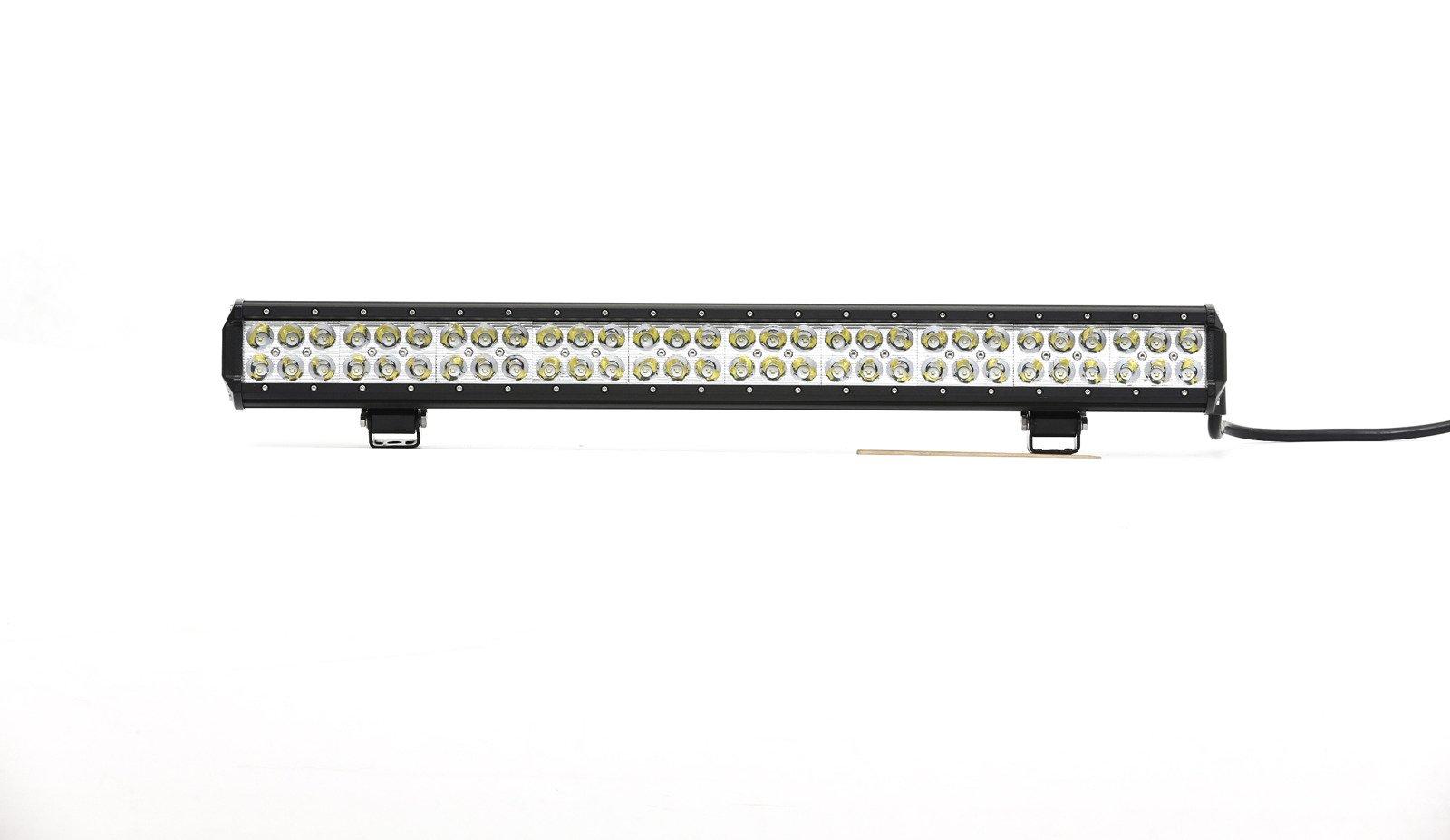 led work light bar 4x4 off road atv truck quad flood lamp 29 5 198w 66x led lb c 198w drl. Black Bedroom Furniture Sets. Home Design Ideas