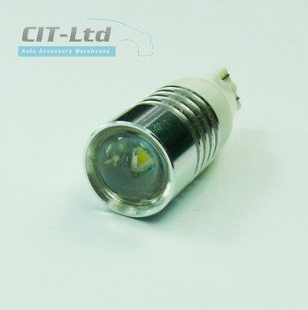 T15 5W Car LED Bulb with lens Cree HP WHITE