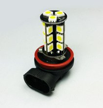 27 LED Bulb SMD-5050  (H11)  CanBus YELLOW